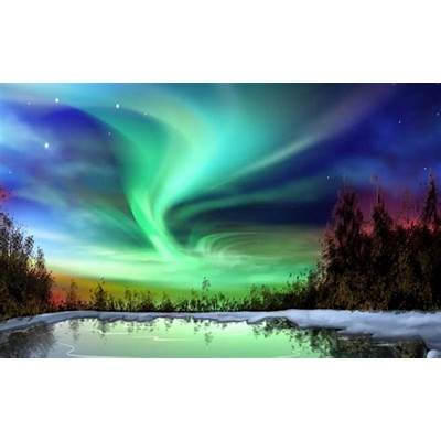 Celestial Aurora Borealis - Northern Lights Our
