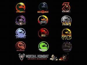 Mortal Kombat Logo #38013 Hd Wallpapers Background ...