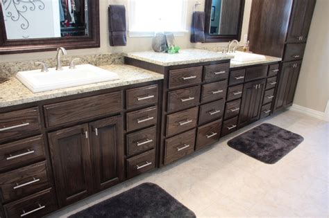 Gel Stain Cabinets White by Ebony Stained Oak Kitchen Cabinets Quicua Com