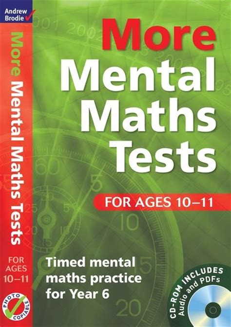 mental maths tests  ages   timed mental maths