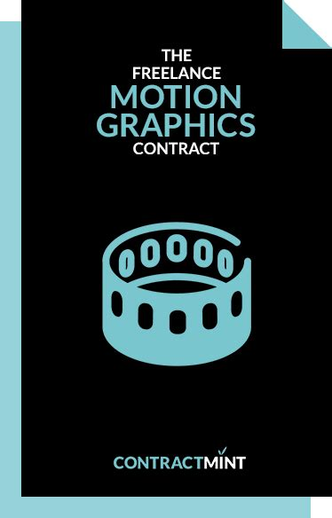 motion graphics production contract template