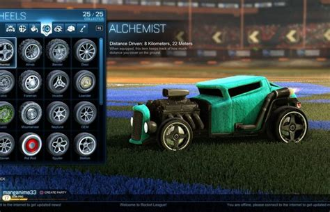 Rocket League Wheels Types