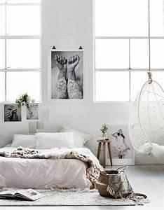 Idees Deco Chambre : 5 id es tr s f minines piquer cette chambre cosy elle d coration ~ Melissatoandfro.com Idées de Décoration