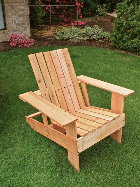 diy adirondack lawn chair  gifts considered
