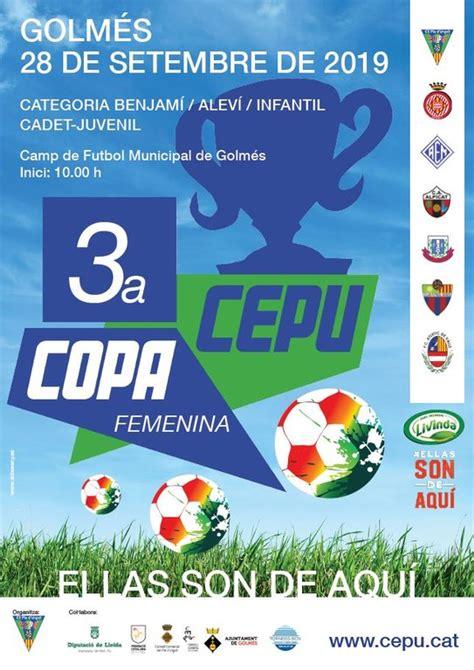 3ª Copa CEPU Femenina — Ajuntament de Golmés
