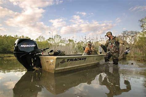 Versatrack Boat Duck Blind by Research Tracker Boats Grizzly 1648 T Blind Duck