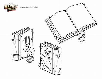 Gravity Falls Journal Prop Gonsalves Andy Dipper