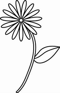 Easy Flower Drawings - ClipArt Best