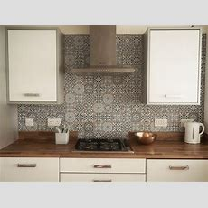 Our New Moroccan Kitchen Tiles Before & After