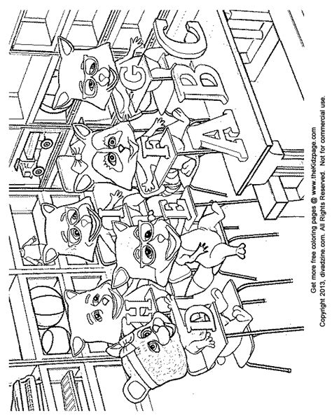Classroom Coloring Pages Class Coloring Pages And Print For Free