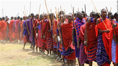 Maasai Tribe's 'last Stand' To Keep Land From Game Hunters