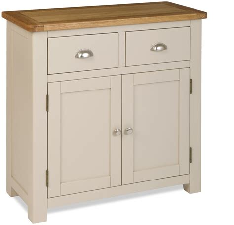Fully Assembled Sideboards by Tynedale Grey Painted 2 Door Sideboard Fully