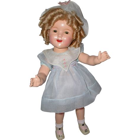 shirley temple doll rare 1934 20 quot prototype ideal shirley temple doll in early molly es sold on ruby lane