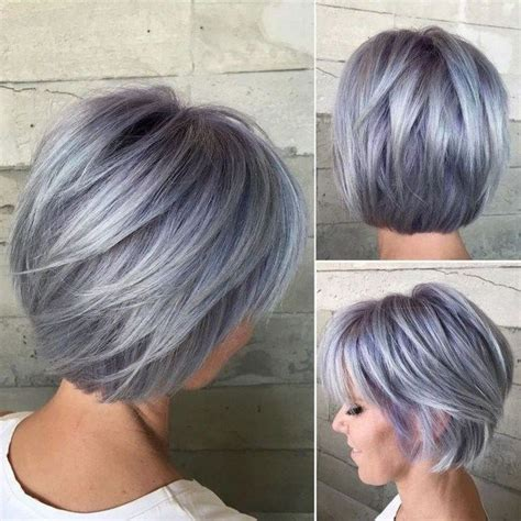 45 Trend Hair Colors for 2019 Beauty Tips Silver hair