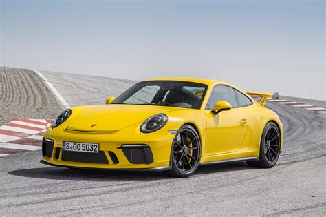 2018 Porsche 911 Gt3 First Drive Review  Automobile Magazine