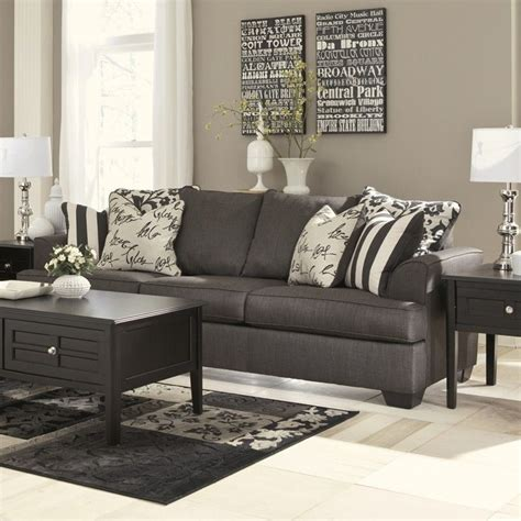 signature design by furniture levon microfiber sofa
