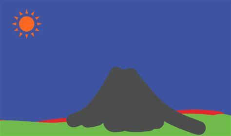 volcano animations   clip art  clip