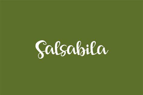 Salsabila | Fonts Shmonts