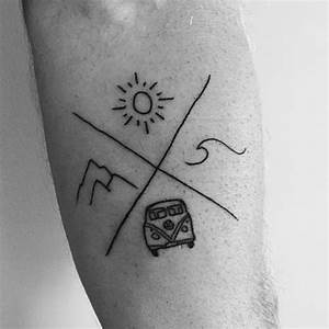 This tattoo reminds me of summer. Tag 4 friends you'd get ...