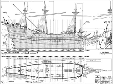 Pearl Ship Deck Plan by Potc Ships The Black Pearl S Hold