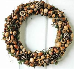 Weihnachtskranz Für Tür : weihnachtskranz basteln 65 inspirierende ideen ~ Sanjose-hotels-ca.com Haus und Dekorationen