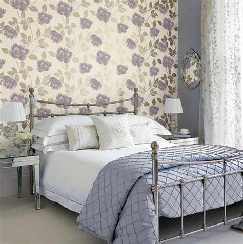 Bedroom With Wallpaper, Purple Bedroom Wallpaper Ideas