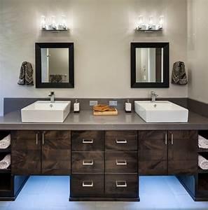 Luminaire De Salle De Bain : l 39 clairage pour la salle de bain multi luminaire ~ Dailycaller-alerts.com Idées de Décoration