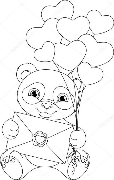 Dierenmasker Kleurplaat Panda by Panda Kleurplaat Stockvector 169 Malyaka 103576178