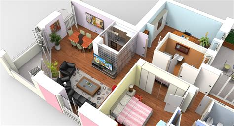 interior apartment modeled  moi furniture  sketchup