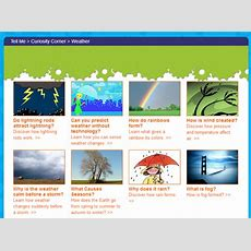 Learning Never Stops 9 Wonderful Weather Websites For Kids