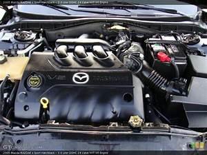 3 0 Liter Dohc 24 Valve Vvt V6 Engine For The 2005 Mazda