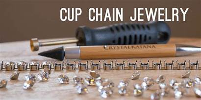 Chain Jewelry Cup Empty Cupchain Tools Hand
