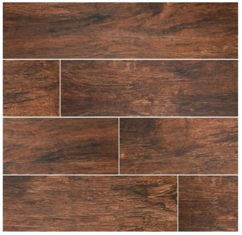 porcelain wood plank tiles 2 35sf redwood mahogany 6x24 wood plank porcelain tile