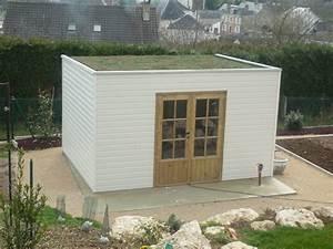 Abri De Jardin Pvc Toit Plat : abri de jardin toit plat avec pergola ~ Dailycaller-alerts.com Idées de Décoration