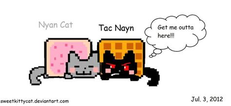 Nyan And Tac By Sweetkittycat On Deviantart