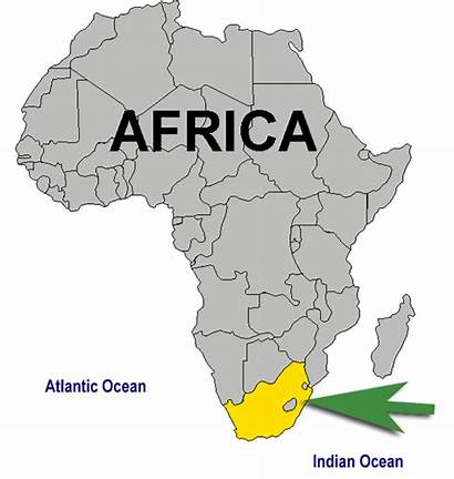 Africa South Animated Map Location Animation Africans