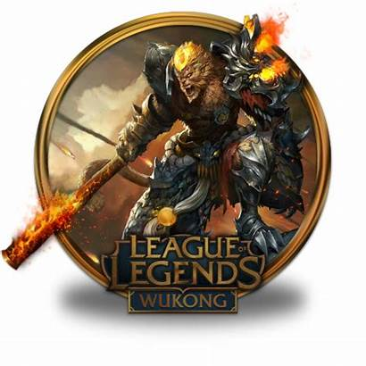 Icon Wukong Volcanic League Legends Border Gold