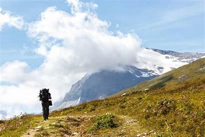 Hiking Mountain Hike Nature Wallpapers Tourist Leisure