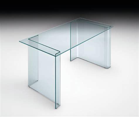 table bureau en verre console de bureau en verre