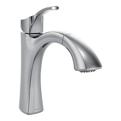 Moen Voss Faucet Specs by Moen Voss Single Handle Pull Out Sprayer Kitchen Faucet