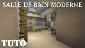 minecraft comment faire une salle de bain moderne ps4 With comment faire une salle de bain
