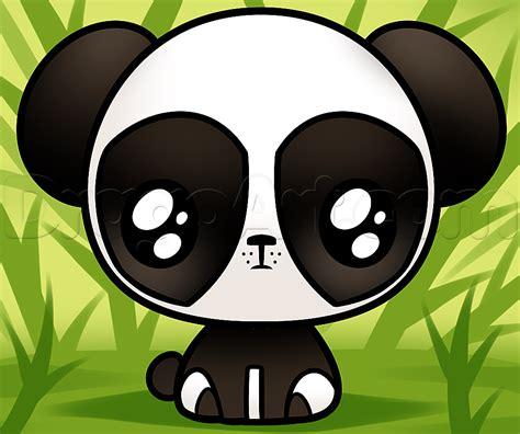 drawn panda kawaii pencil   color drawn panda kawaii