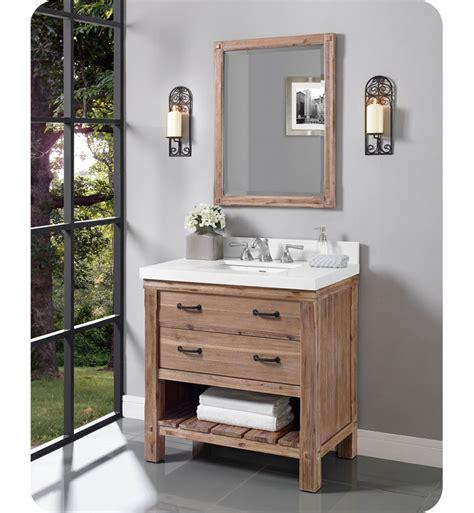 Fairmont Design Vanity by Fairmont Designs 1507 Vh36 Napa 36 Quot Open Shelf Vanity In