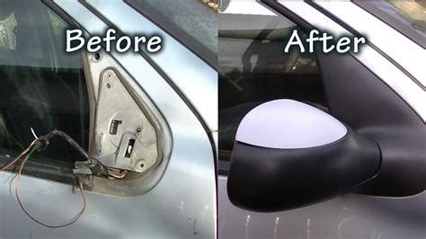 minutes  replace  side mirror youtube