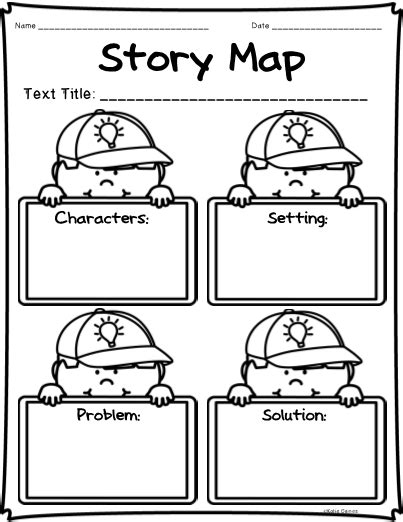 Story Elements Graphic Organizers!