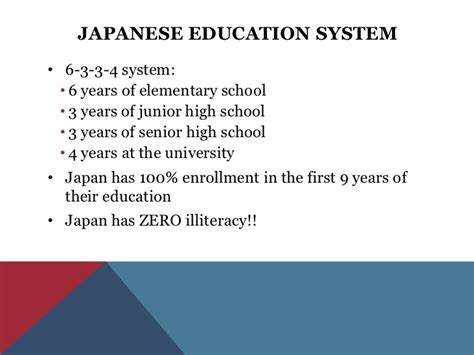 education  japan