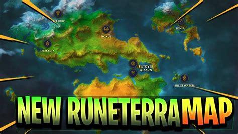 runeterra map exploration  continents nations