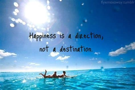 happiness   direction   destination happiness