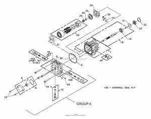 Bunton  Bobcat  Ryan 642233  61 Side Discharge Parts Diagram For Hydrogear Pump