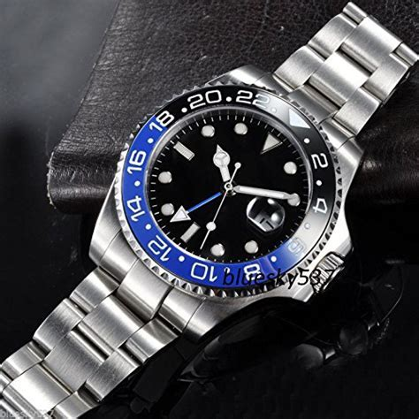 Fanmis GMT Master Sapphire Glass Blue and Black Ceramic